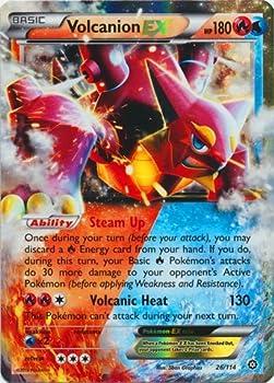 Pokemon - Volcanion-EX  26/114  - XY Steam Siege - Holo