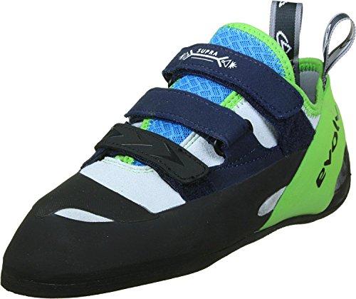 Evolv Supra Climbing Shoes - White/Neon Green 10