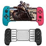 IITaozi Controlador de juego móvil Bluetooth controlador de teléfono inalámbrico controlador móvil joystick juego mango Azul