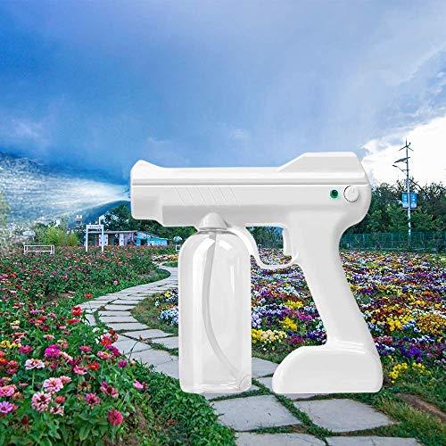 AMDIMOHB Atomización automática DISINFECCIÓN Pistola pulverizadora Nano Pulverizador, MachinesTeam Spray Pistola esterilización Spray de atomización de Vapor portátil para Oficina en casa, Rosa
