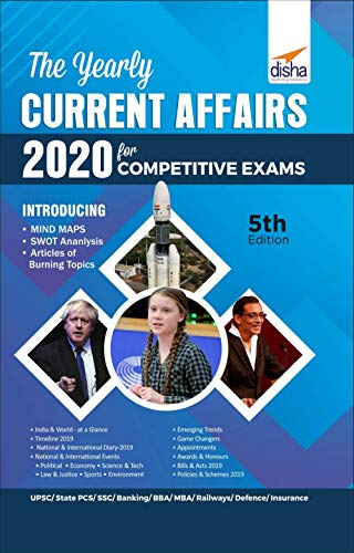 The Yearly Current Affairs 2020 for Competitive Exams 5th Edition