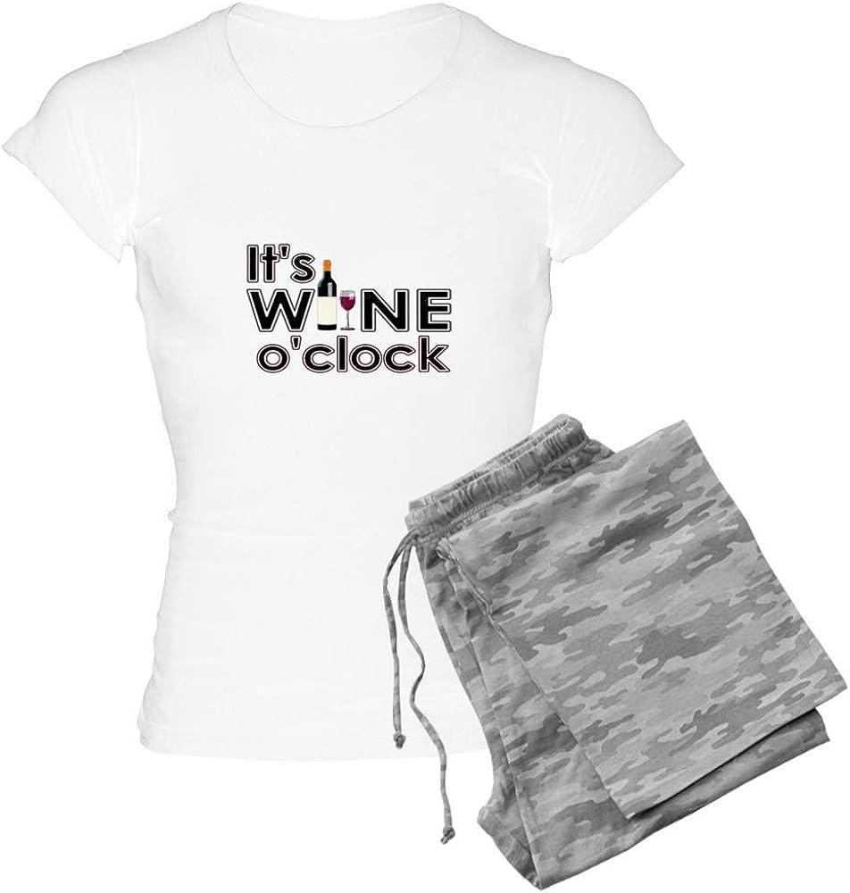 セットアップ CafePress It's Wine O'clock PJs 当店は最高な サービスを提供します Women's