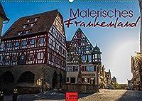 Malerisches Frankenland (Wandkalender 2022 DIN A2 quer): Die Schoenheiten Frankens in 12 Fotografien (Monatskalender, 14 Seiten )