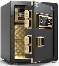 Safe Electronic Password Safe Home Concealed Safe Closet Alarm System Mini Safe (Color : Black, Size : 38 * 32 * 48cm)