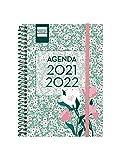 Finocam - Agenda Secundaria 2021 2022 8 - 120x164 Semana Vista Apaisada Floral Portugués