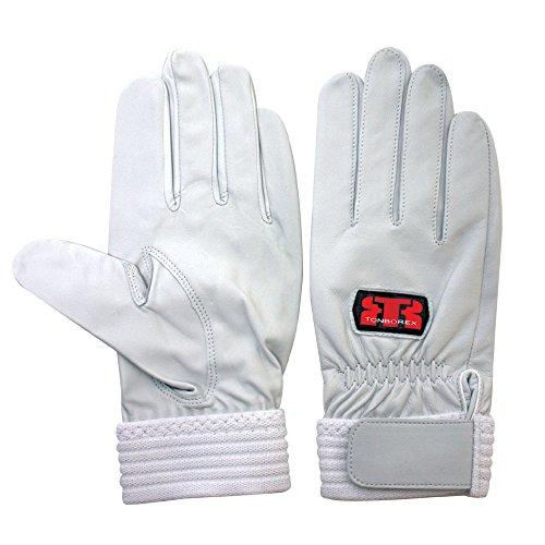 TONBOREX(トンボレックス) レスキューグローブ 羊革手袋 R-MAX1 シルバーホワイト Mサイズ