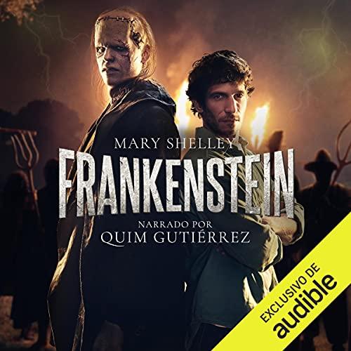 Diseño de la portada del título Frankenstein