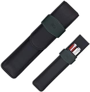 Pelikan Leather Double Pen Case, Black (923417)