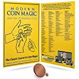 Modern Coin Magic by Magic Makers - Over 170 Coin Tricks & Moves Explained and Demonstrated by Professional Magicians - Performance Coin Magic Trick 4 Volume Instructional Set