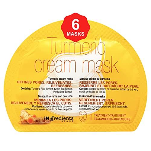 in.gredients Turmeric Cream Mask