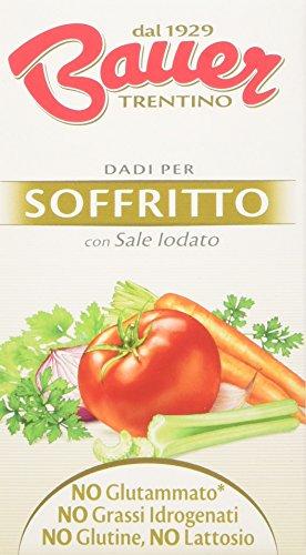 Bauer - Dado per Soffritto - 3 astucci da 6 dadi [18 dadi, 180 g]