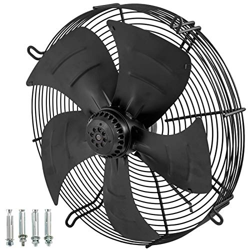 Daily Accessories YWF4E 450 Industrial Extractor 18 Inch Metal Axial Exhaust Ventilation Commercial Air Blower Fan 5410m3/h Smart Vent Wall Fans Fume Extractor