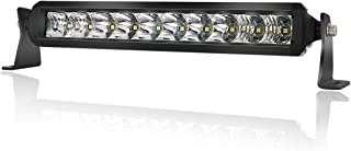 LED Light Bar 10 inch - 4WDKING 50W IP69K Waterproof Off-Road Combo LED Work Light Super Bright Truck Driving Fog Lamp on Front Bumper and Grille Fit for Ford F150 Polaris RZR Jeep Wrangler