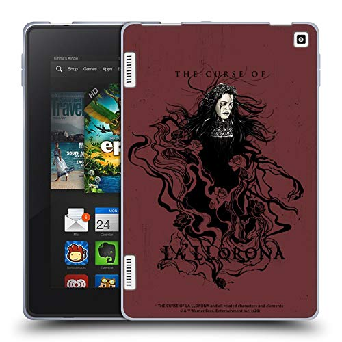 Head Case Designs Officially Licensed The Curse of La Llorona Weeping Lady 2 Graphics Soft Gel Case Compatible with Amazon Fire HD 7