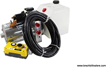 Bucher Double-Acting Hydraulic Pump Assembly Power Up/Power Down with 1.5 Gallon Resevoir