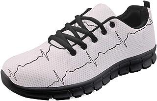 Coloranimal Zapatillas de Deporte para Mujer Running Running Light Air Mesh Flats Zapatillas de Tenis
