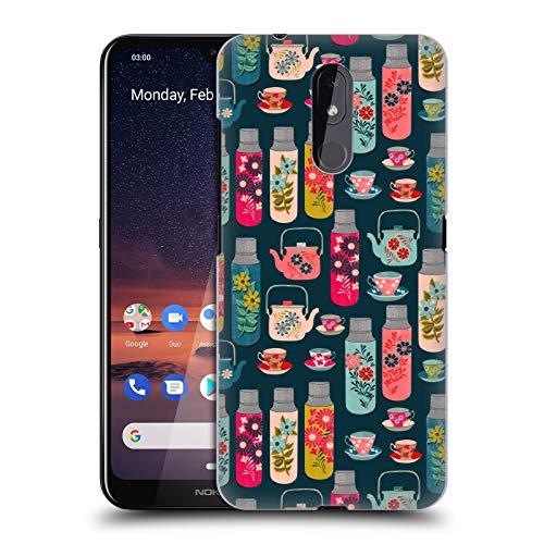 Officiële Andrea Lauren Design Thermoskan Voedsel Patroon Hard Back Case Compatibel voor Nokia 3.2
