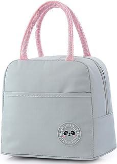 COAFIT Lunch Bag Portable Splash-Proof Thermal Lunch Handbag Lunch Tote Bag for Picnic