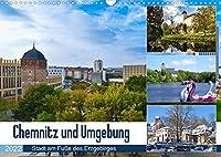 Chemnitz und Umgebung (Wandkalender 2022 DIN A3 quer): Eine facettenreiche Region im Fokus (Monatskalender, 14 Seiten )