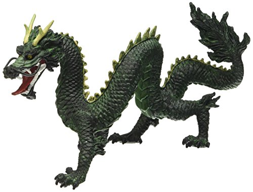 Plastoy - Chinese Dragon Figurine - Green - French version