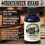 Beard Grooming Care Kit for Men by Mountaineer Brand   Beard Oil (2oz), Conditioning Balm (2oz), Wash (4oz), Brush… 4