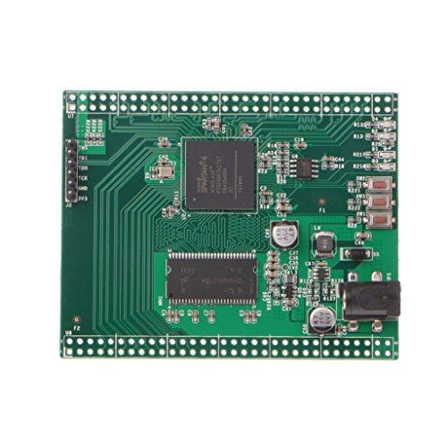 JENOR XC6SLX16 - Scheda di sviluppo Spartan 6 Xilinx FPGA con memoria Micro SDRAM da 32 MB