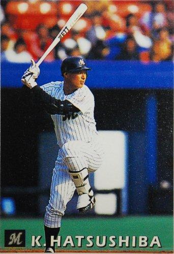 カルビー 野球カード 1998 108 初芝清 千葉ロッテマリーンズ
