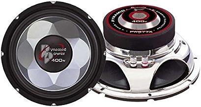 "6"" Car Audio Speaker Subwoofer - 300 Watt High Power Bass Surround Sound Stereo Subwoofer Speaker System w/ Molded P.P. Co..."