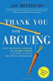 Thank You for Arguing Revised