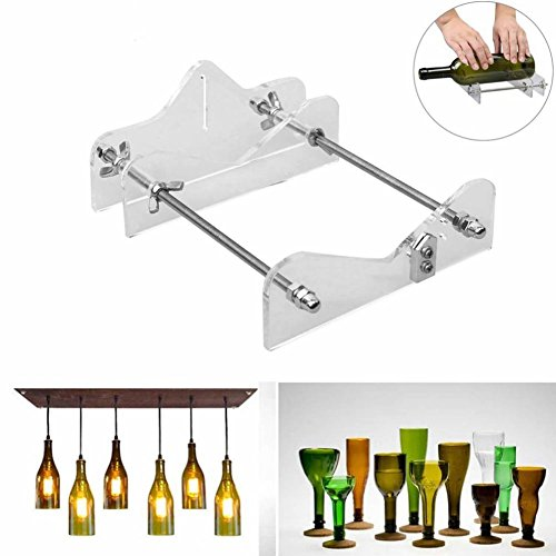 Haude Glass Cutter Tool Professional para botellas de corte de vidrio Bottle-Cutter Herramientas de corte de bricolaje Machine Wine Beer Bottle