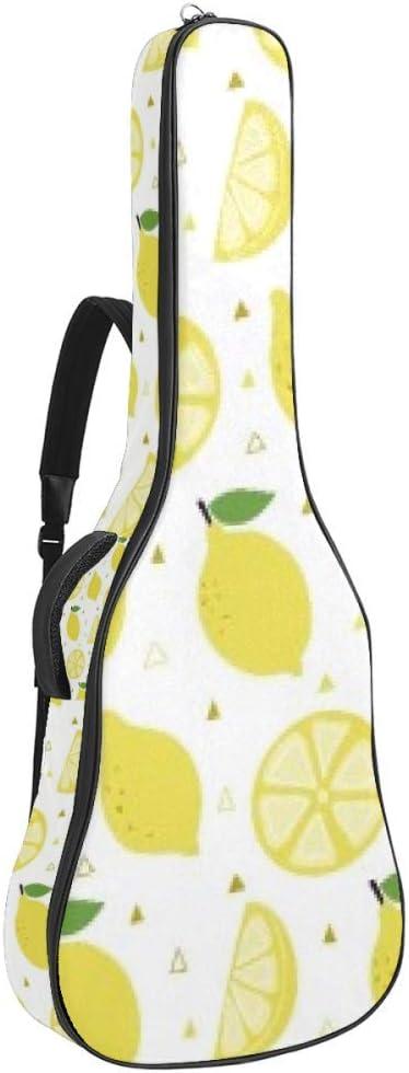 Guitar Gig Bag Waterproof Cheap Zipper Soft Bass Acou gift Backpack