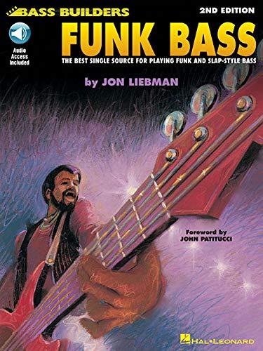 Funk Bass Book/Cd -Album-: Noten, CD für Bass-Gitarre (Bass Builders Series)