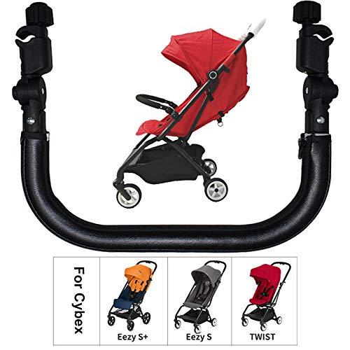Carritos sillas de paseo y accesorios Barra de seguridad para cochecitos compatible con Cybex Eezy S S + Twist (Frente solo como foto)