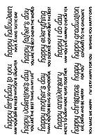 透明なクリアスタンプDIYシリコーンシールスクラップブッキング/カード作成/写真アルバムの装飾