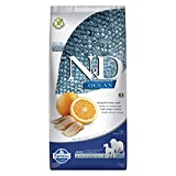 n&d low grain n&d n& d grain free con pesce oceanico e arancia secco cane kg. 12, multicolore, unica
