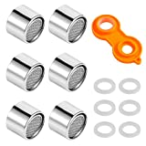 CEREALY 6Pcs Faucet Aerator M22 Bathroom Kitchen Sink Faucet Bubbler Filter Aerator Replacement Parts with 6...