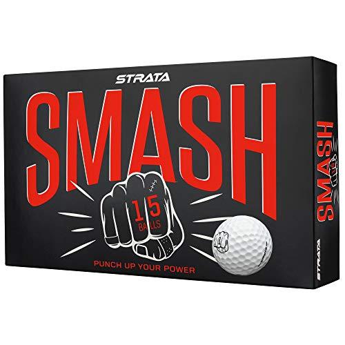 Strata 2018 Smash Golf Balls (Pack of 15)