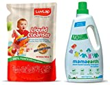 Product 1: Non Toxic - made from 100% food grade ingredients Product 1: Removes pesticide residues on fruits, vegetables, feeding bottles & accessory Product 1: No artificial colours Product 1: Biodegradable Product 2: BABY SAFE & BIO DEGRADABLE FORM...