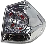 Evan-Fischer Tail Light Assembly Compatible with 2004-2006 Lexus RX330 Outer Passenger Side