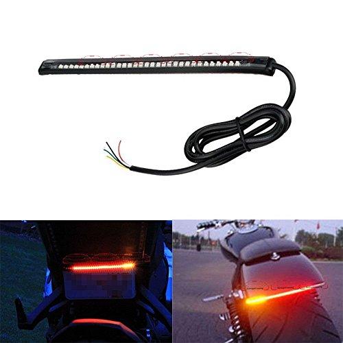 Spedy 32-SMD Red LED Bar for Bike Brake Tail Light & Left/Right Turn Signal Lamp for Universal All Model