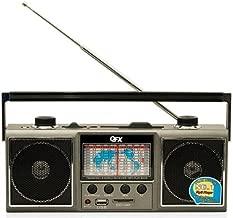 QFX J-114U AM/FM/SW 1-9 World Receiver with USB/SD Port