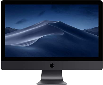 Apple iMac Pro (27-inch with Retina 5K Display, 3.2GHz 8-core Intel Xeon W, 32GB RAM, 1TB SSD) - Space Gray