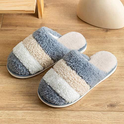 B/H Gleiten Sie auf Memory Foam Pantoffeln Pantoffeln,Damen Plüsch Pantoffeln aus...