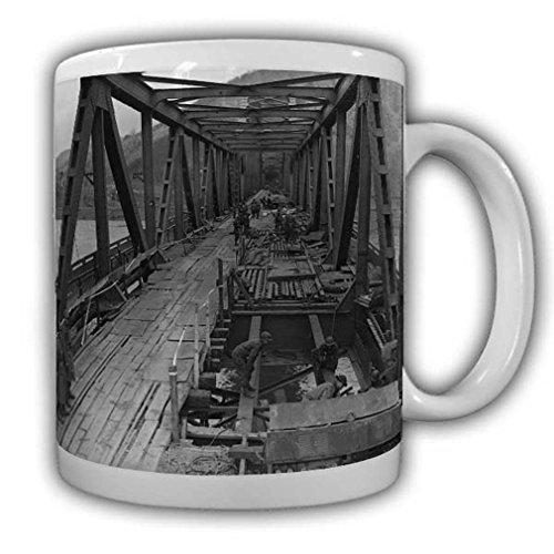 Puente Remagen US soldados Army Militär America Brückebau Rhein #22539