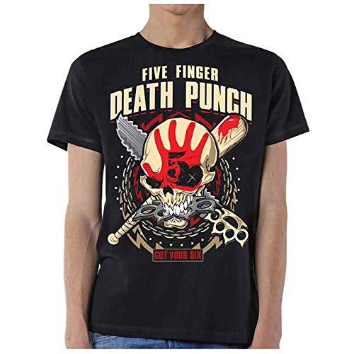 Noir Spiral Direct x Five Finger Death Punch Assassin Tee Shirt