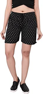 Bfly Women's Printed Cotton Shorts