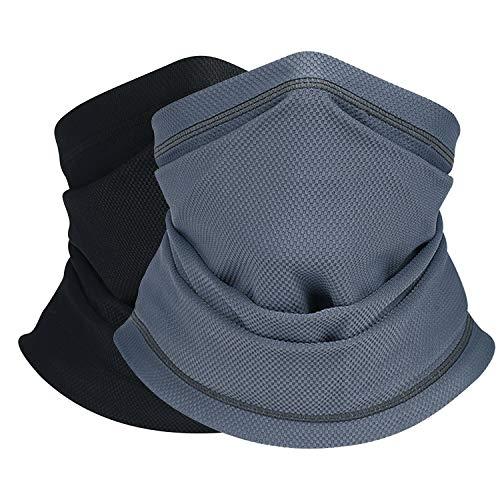Bikers Bandana Scarf Balaclava Neck Gaiter Face Men Women Headwear Headband Cap