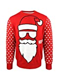 jap maglione natalizio santa ho ho - vestibilità perfetta senza prurito - unisex - 521m