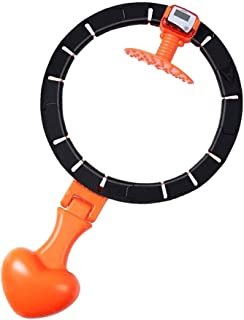Sports Hula Hoop, Tire Massage, Fitness Hula Hoop, Adjustable Size, Won't Drop Hula Hoop, Smart Counting and Automatic Wei...