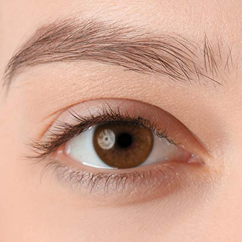 Stark deckende, natürliche Kontaktlinsen in der Farbe Victory Brown, aus der PREMIUM Kollektion geeignet für dunkle Augen, Silikon Hydrogel der Marke LUXDELUX